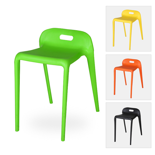 Low Back Stackable Plastic Chair