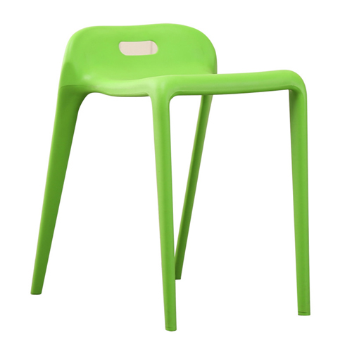 Low Back Stackable Plastic Chair Image 5