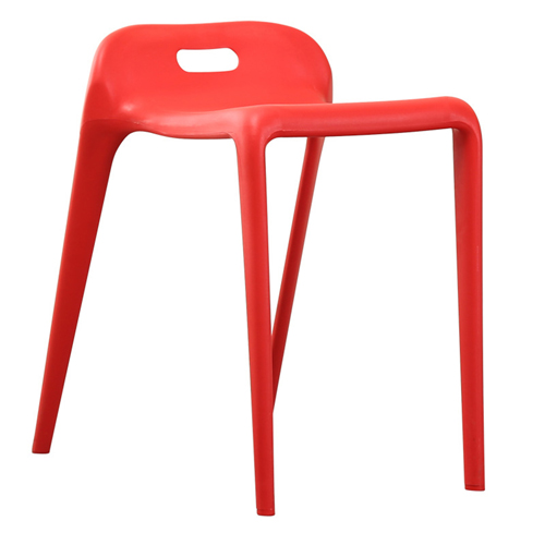 Low Back Stackable Plastic Chair Image 6