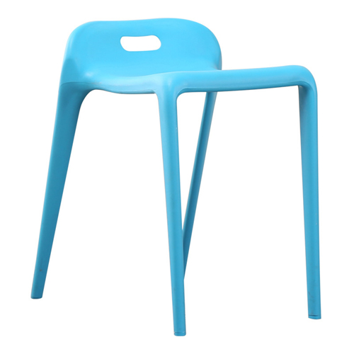 Low Back Stackable Plastic Chair Image 7
