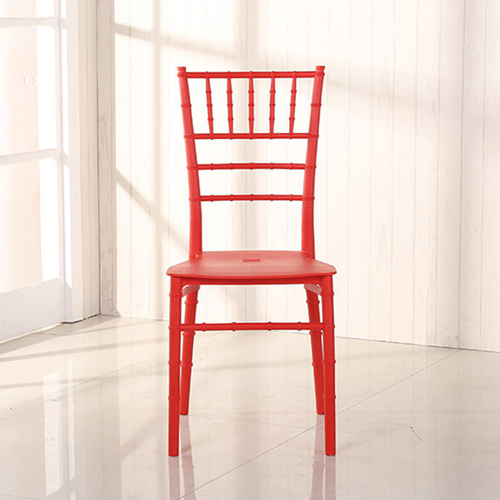 Bamboo Design Plastic Chair Image 11