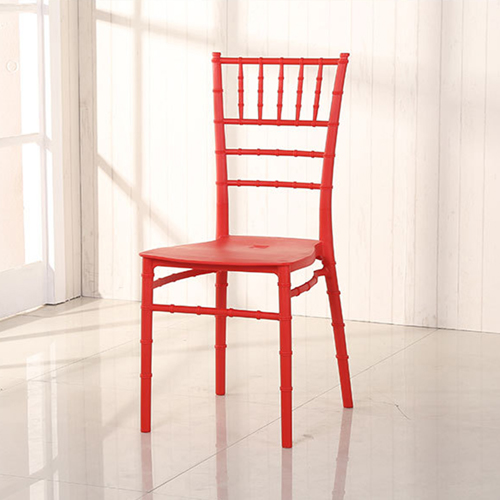 Bamboo Design Plastic Chair Image 12