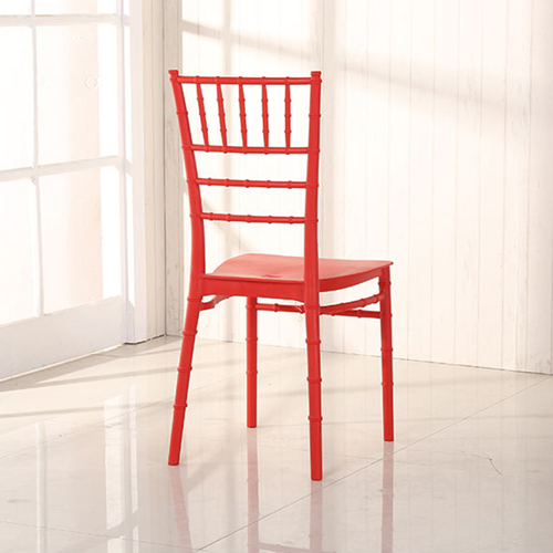 Bamboo Design Plastic Chair Image 13