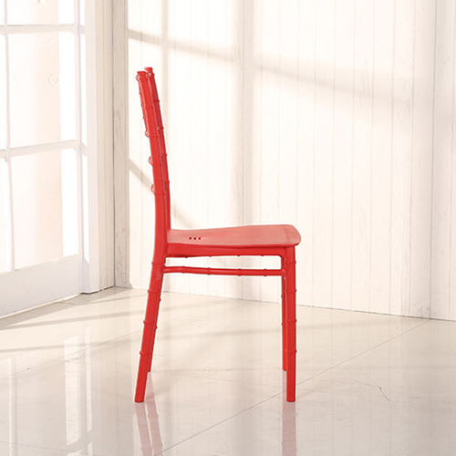 Bamboo Design Plastic Chair Image 15