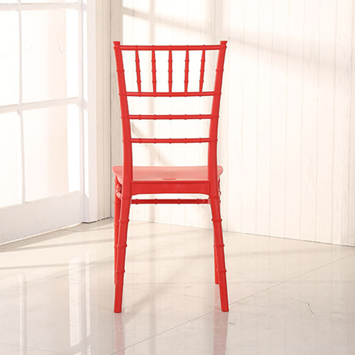Bamboo Design Plastic Chair Image 16