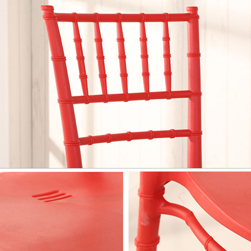 Bamboo Design Plastic Chair Image 18