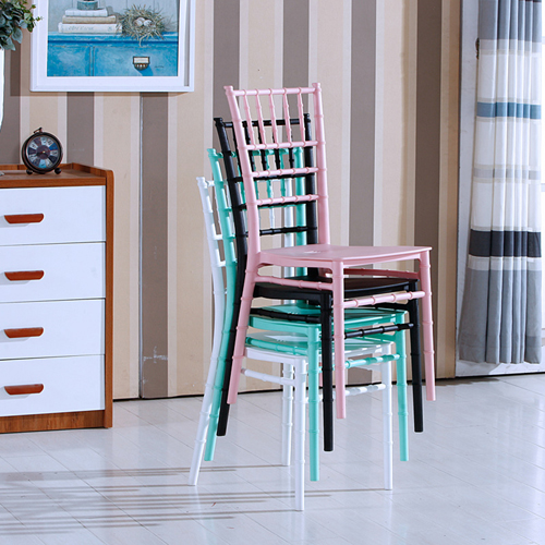 Bamboo Design Plastic Chair