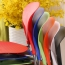 Creative Chrome Plastic Dining Chair Image 7