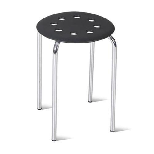 Norwood Metal Plastic Stackable Stool Image 1