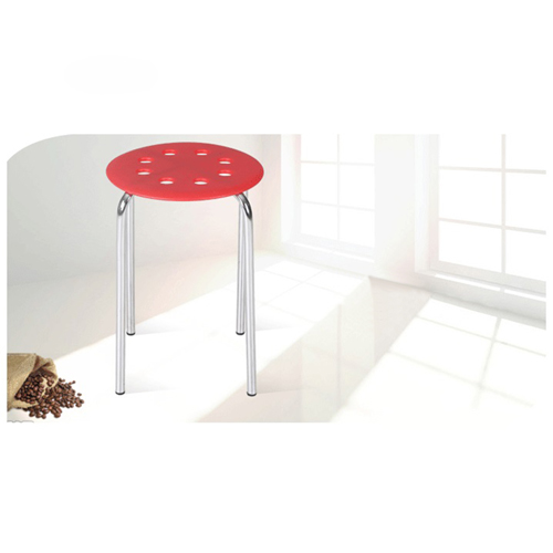 Norwood Metal Plastic Stackable Stool Image 3