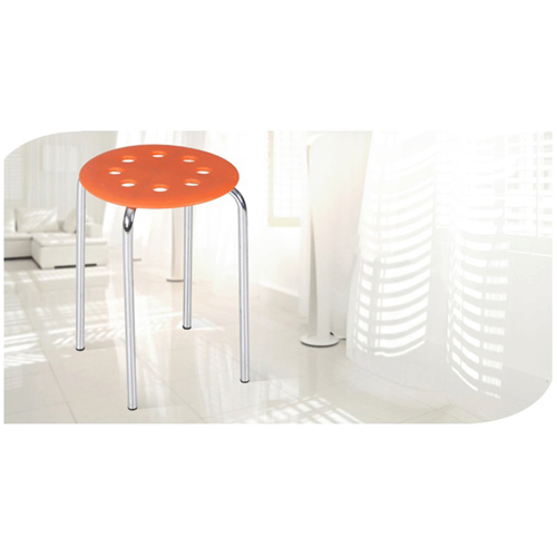 Norwood Metal Plastic Stackable Stool Image 5
