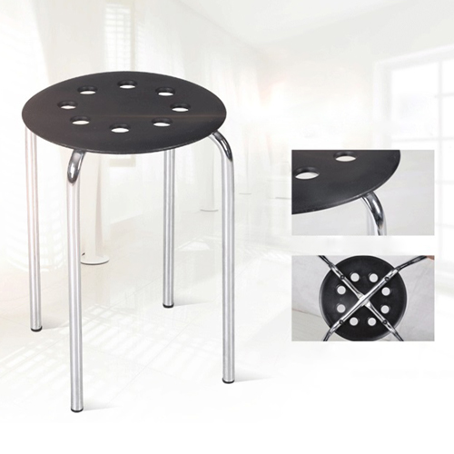 Norwood Metal Plastic Stackable Stool Image 8