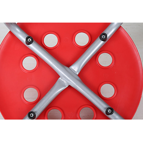 Portable Steel Base Plastic Stool Image 9