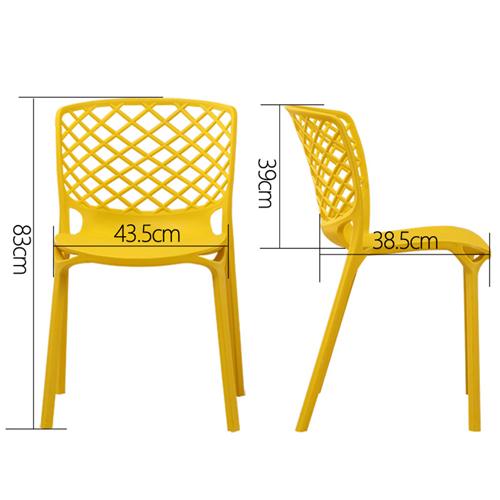 Gamera Stacking Dining Chair Image 18