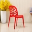 Holes Stones Stackable Chair