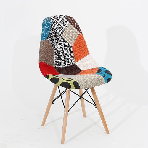 Patchwork Design Dining Chair