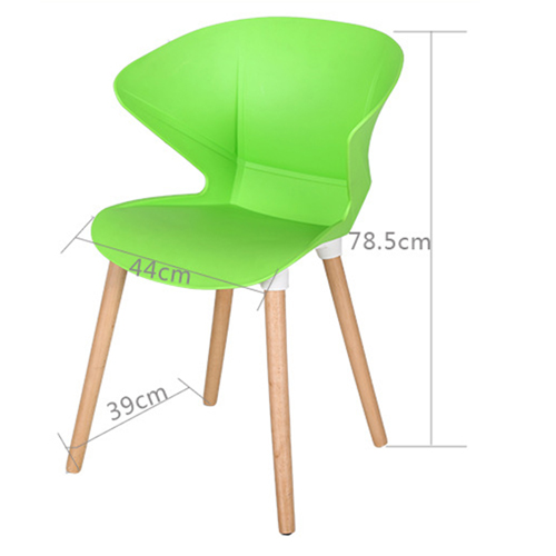 Replica Modern Chair With Wooden Legs