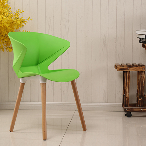 Replica Modern Chair With Wooden Legs Image 1