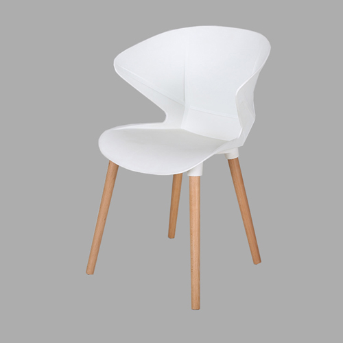 Replica Modern Chair With Wooden Legs Image 4