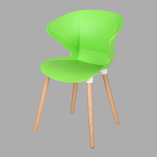 Replica Modern Chair With Wooden Legs Image 5