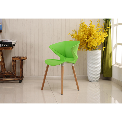 Replica Modern Chair With Wooden Legs Image 8