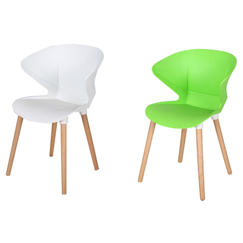 Replica Modern Chair With Wooden Legs Image 9