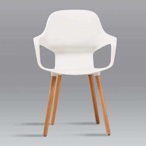 Ariel Breakout Wooden Leg Chair Image 9