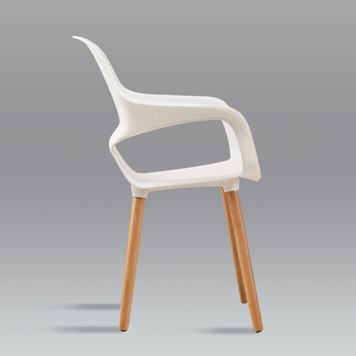 Ariel Breakout Wooden Leg Chair Image 10