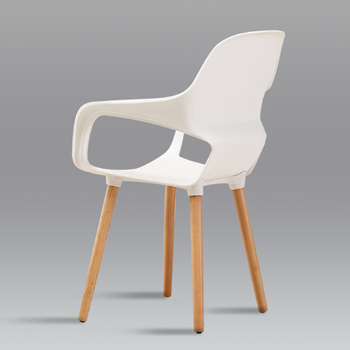 Ariel Breakout Wooden Leg Chair Image 11