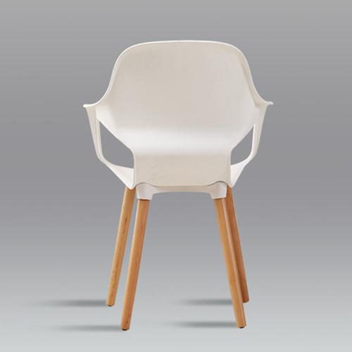 Ariel Breakout Wooden Leg Chair Image 12