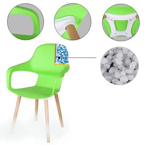 Ariel Breakout Wooden Leg Chair Image 13