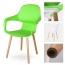 Ariel Breakout Wooden Leg Chair