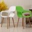 Ariel Breakout Wooden Leg Chair Image 1