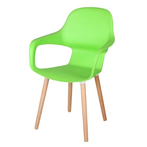Ariel Breakout Wooden Leg Chair Image 3