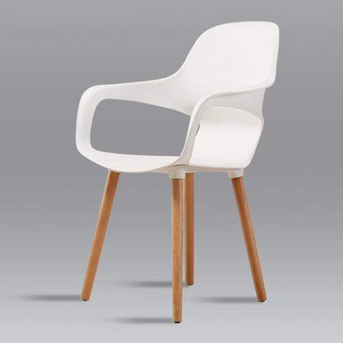 Ariel Breakout Wooden Leg Chair Image 5