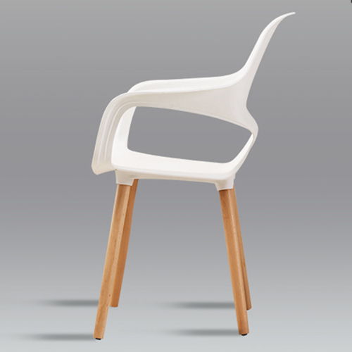 Ariel Breakout Wooden Leg Chair Image 6