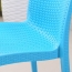 Rattan Stackable Dining Armless Chair Image 14