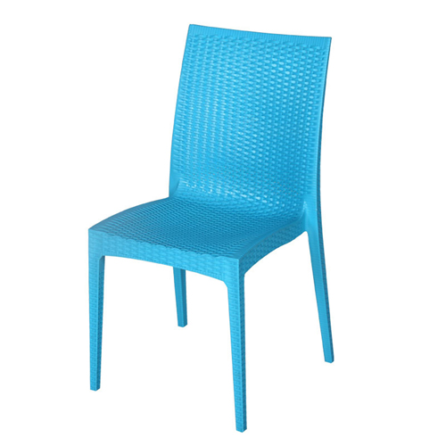 Rattan Stackable Dining Armless Chair