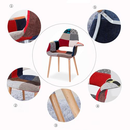 Replica Patchwork Armchair Image 11