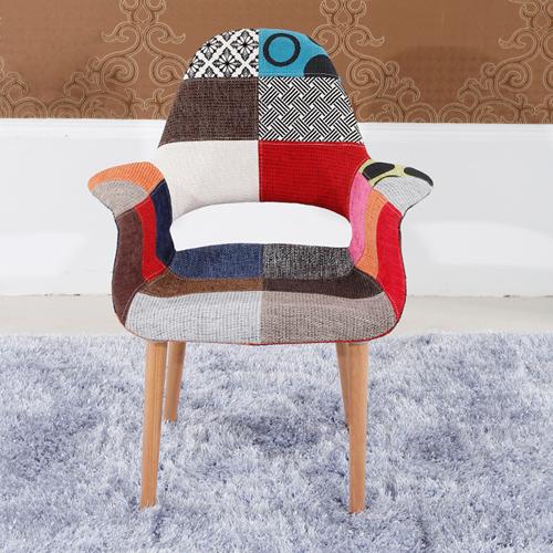 Replica Patchwork Armchair Image 2