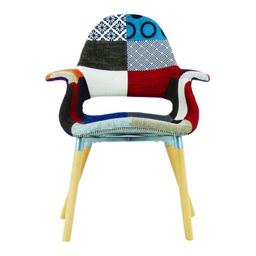 Replica Patchwork Armchair Image 5