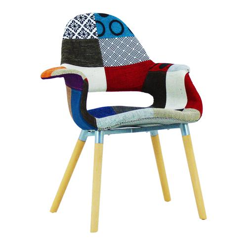 Replica Patchwork Armchair Image 6