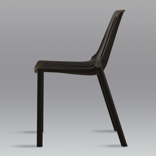 Alley Stackable Dining Cafe Chair Image 9