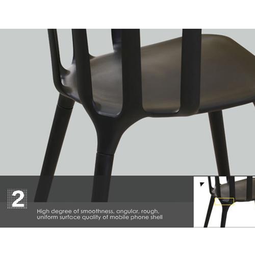 Windsor Plastic Armrest Chair Image 14