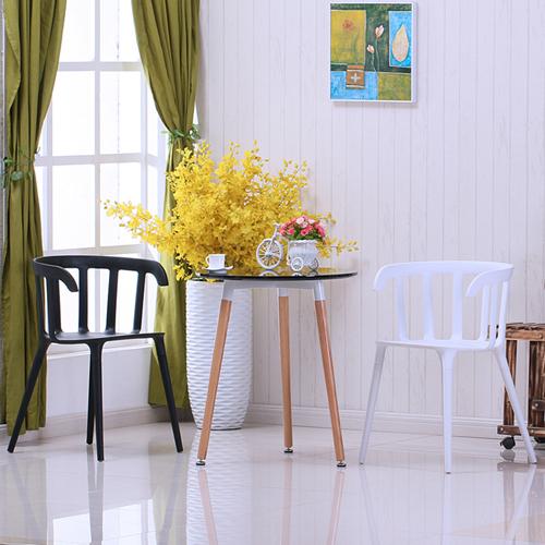 Windsor Plastic Armrest Chair Image 1