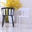 Windsor Plastic Armrest Chair Image 2