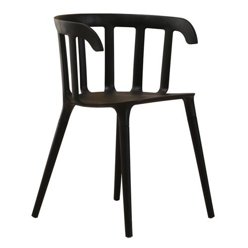 Windsor Plastic Armrest Chair Image 3