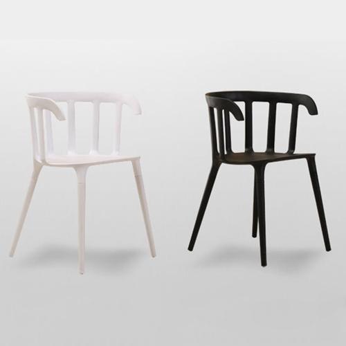 Windsor Plastic Armrest Chair Image 5