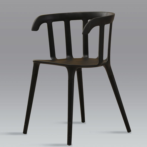 Windsor Plastic Armrest Chair Image 7