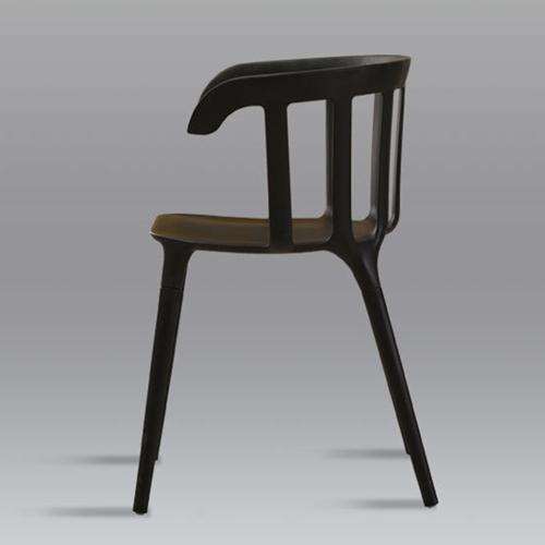 Windsor Plastic Armrest Chair Image 8